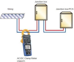 CM4371 for measuring solar power string current